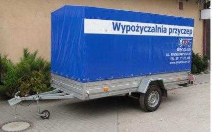 Wynajem przyczep Wrocław